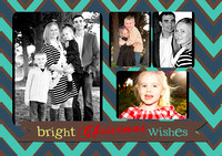 bright front 5X7 FLAT CARD